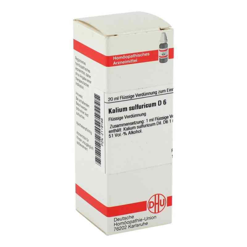 Kalium Sulfuricum D6 Dilution  bei juvalis.de bestellen