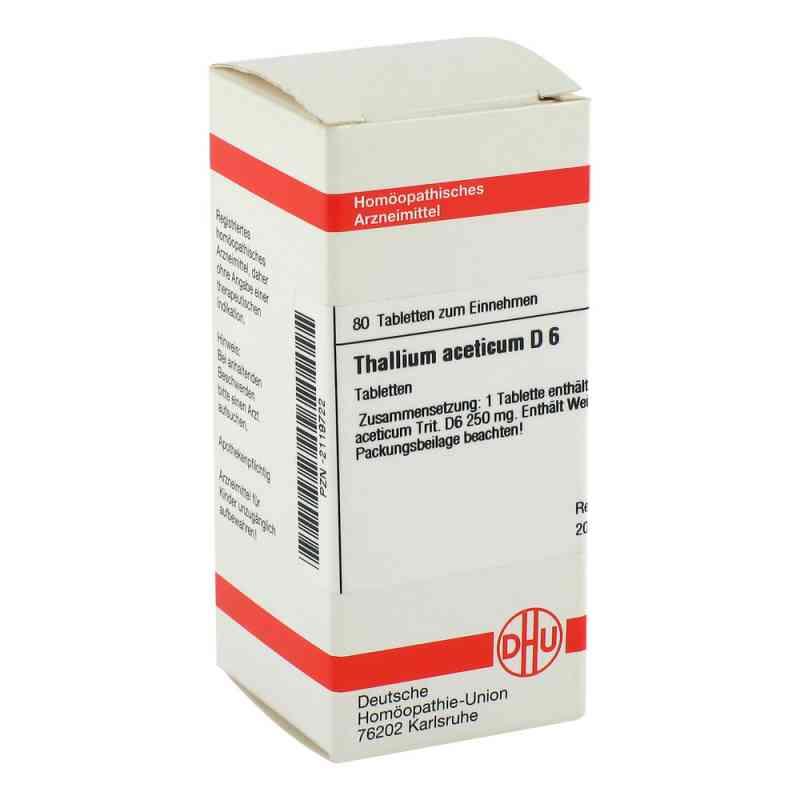 Thallium Acet. D6 Tabletten  bei juvalis.de bestellen