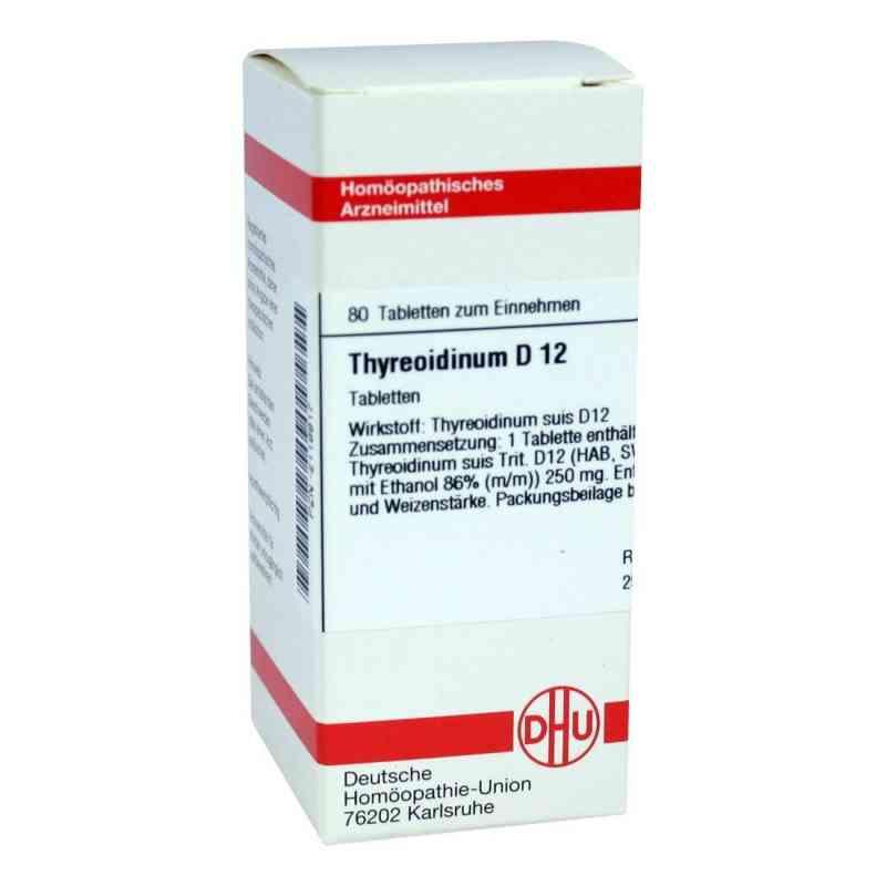 Thyreoidinum D12 Tabletten  bei juvalis.de bestellen