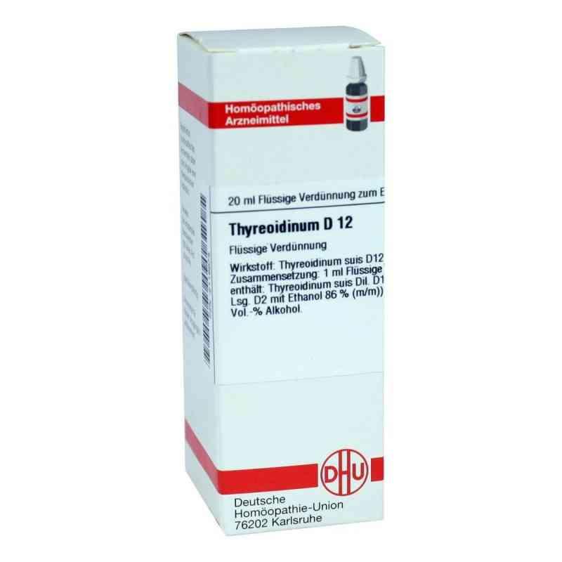 Thyreoidinum D12 Dilution  bei juvalis.de bestellen