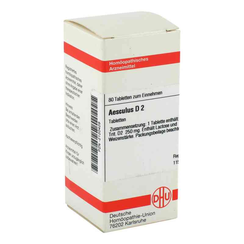 Aesculus D2 Tabletten  bei juvalis.de bestellen