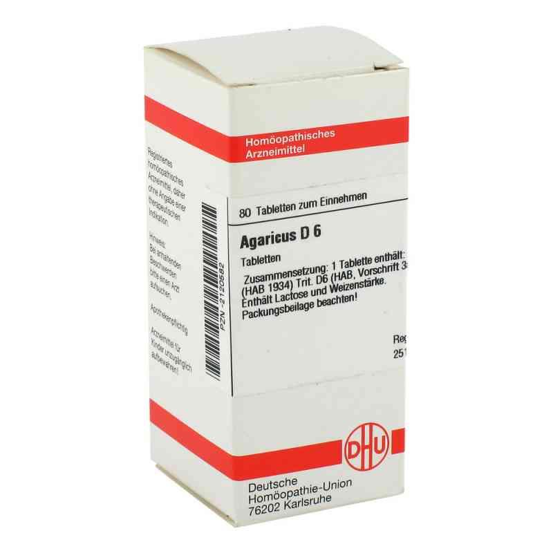 Agaricus D6 Tabletten  bei juvalis.de bestellen