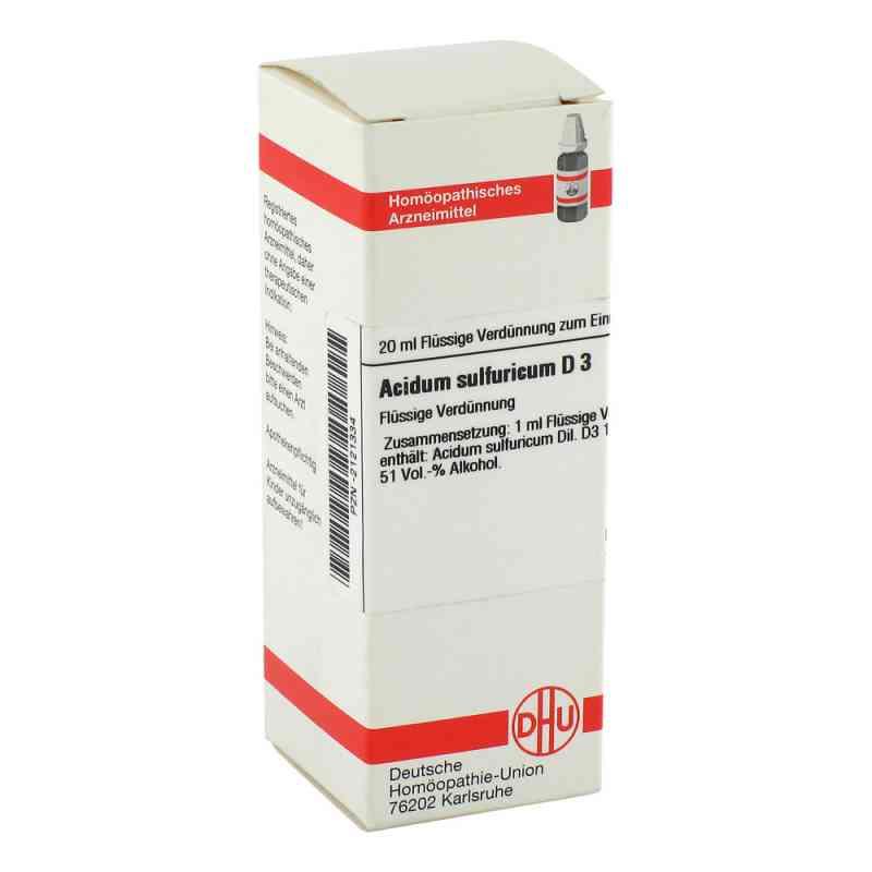 Acidum Sulfuricum D3 Dilution  bei juvalis.de bestellen
