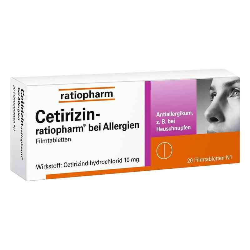 Cetirizin-ratiopharm bei Allergien  bei juvalis.de bestellen