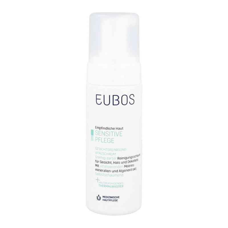 Eubos Sensitive Vital Schaum Gesichtsreinigung  bei juvalis.de bestellen