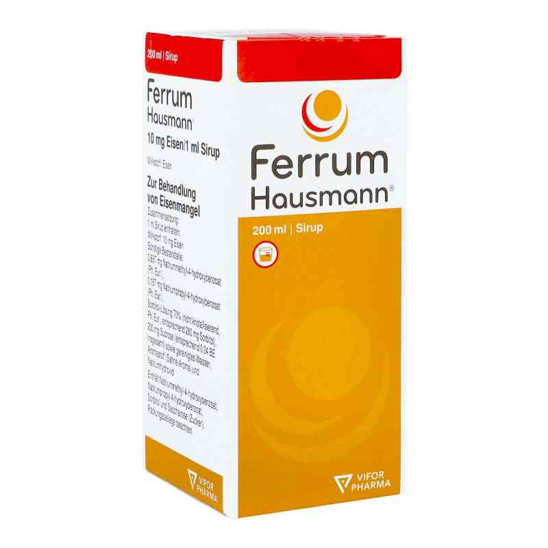 Ferrum Hausmann 50mg Eisen/5ml  bei juvalis.de bestellen