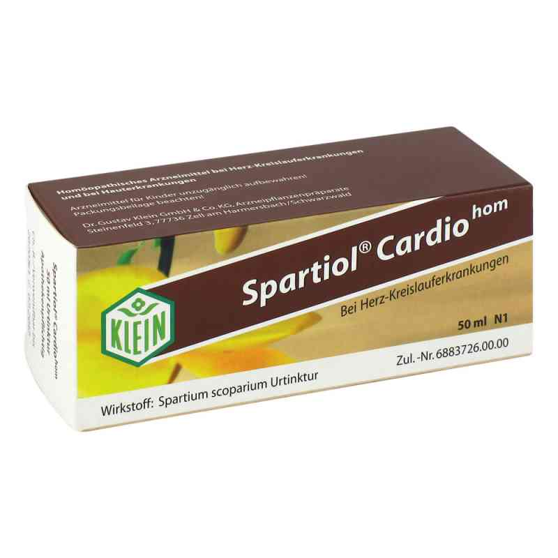 Spartiol Cardiohom Tropfen  bei juvalis.de bestellen