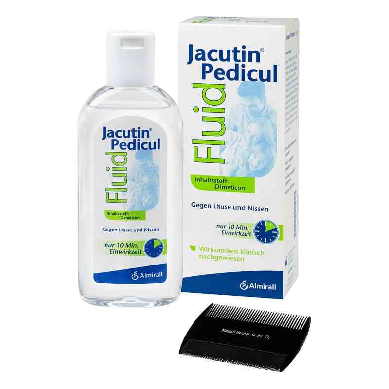Jacutin Pedicul Fluid mit Nissenkamm  bei juvalis.de bestellen