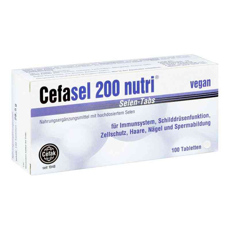 Cefasel 200 nutri Selen Tabs Tabletten  bei juvalis.de bestellen