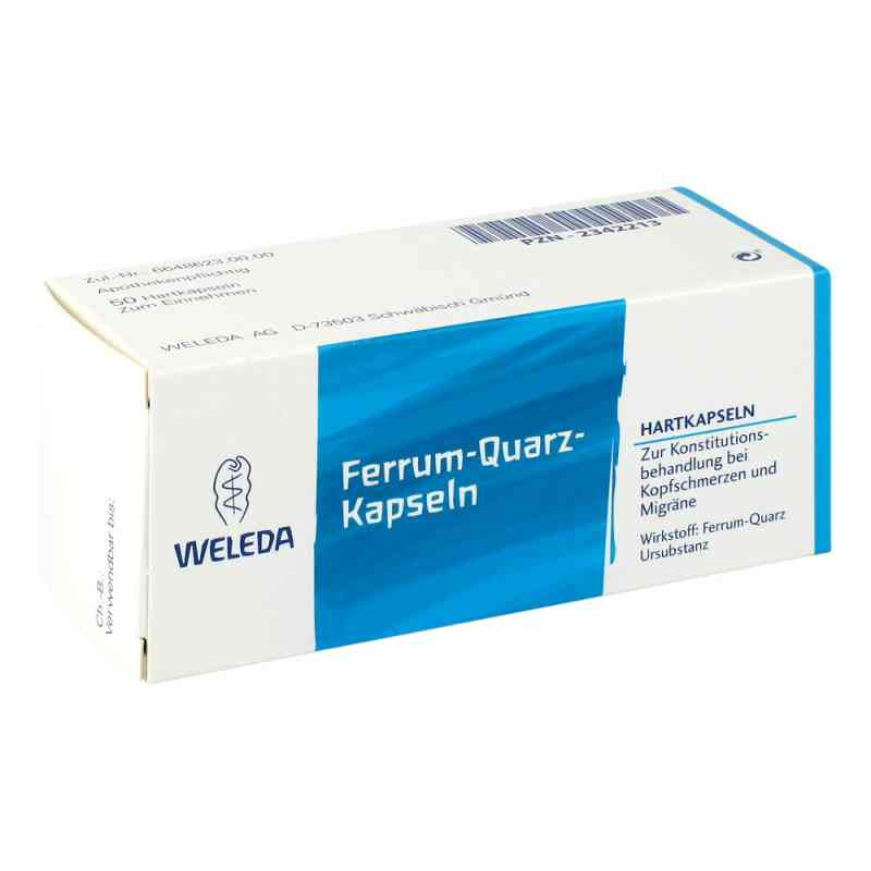 Ferrum Quarz Hartkapseln  bei juvalis.de bestellen