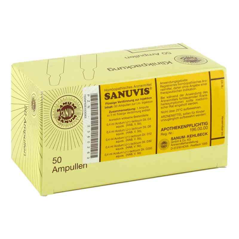 Sanuvis Injektion  bei juvalis.de bestellen