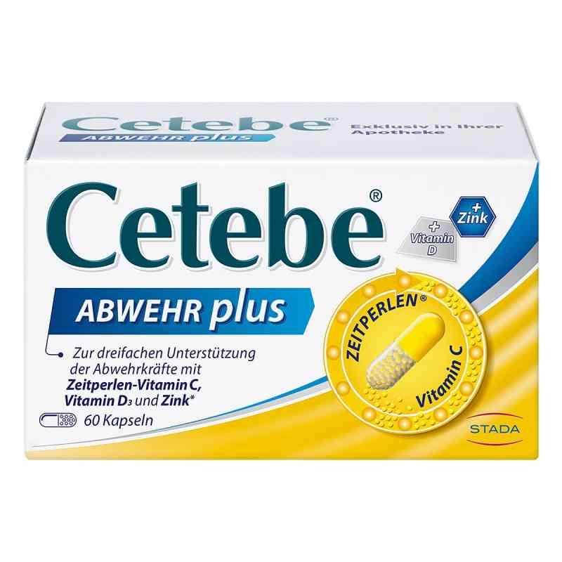 Cetebe Abwehr plus Vitamin C+vitamin D3+zink Kapsel (n)  bei juvalis.de bestellen