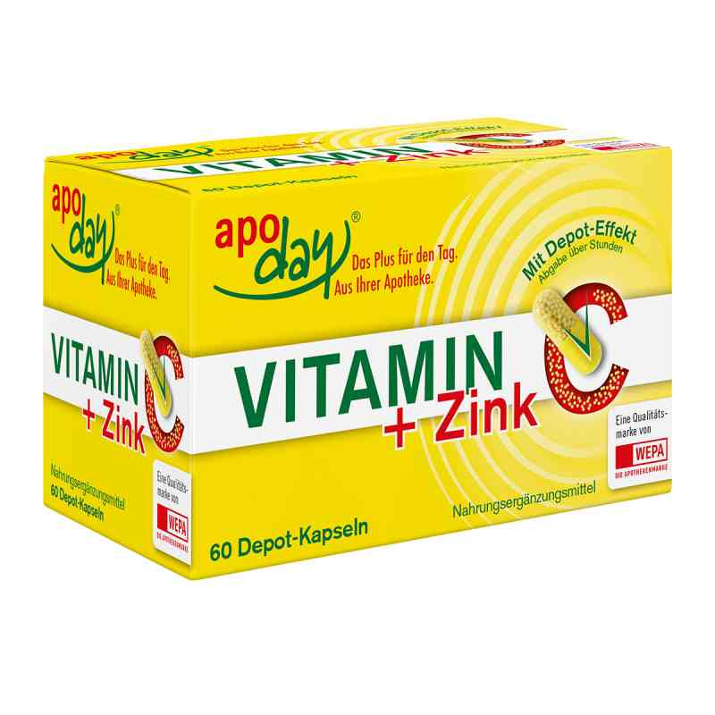 Vitamin C + Zink Depot Kapseln  bei juvalis.de bestellen