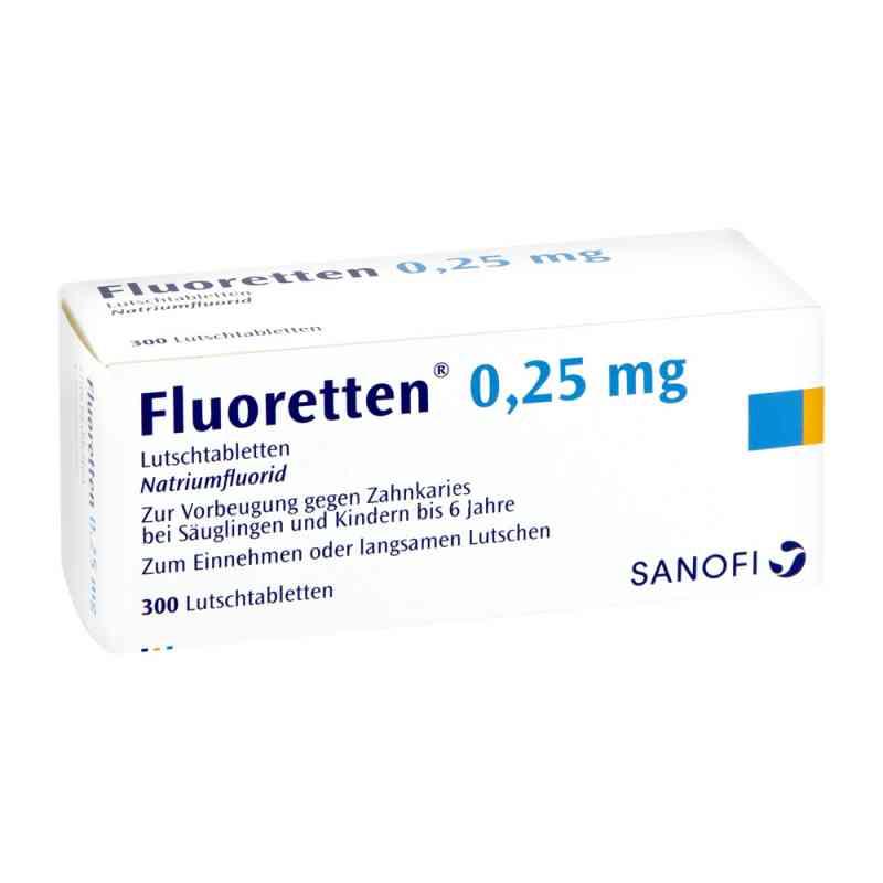 Fluoretten 0,25mg  bei juvalis.de bestellen