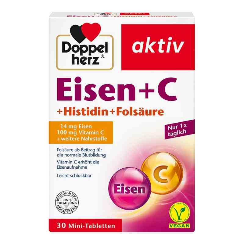 Doppelherz Eisen+vit.c+l-histidin Tabletten  bei juvalis.de bestellen