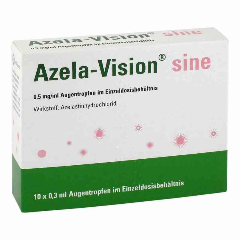 Azela-vision sine 0,5 mg/ml Augentropfen i.einzeldosis.  bei juvalis.de bestellen