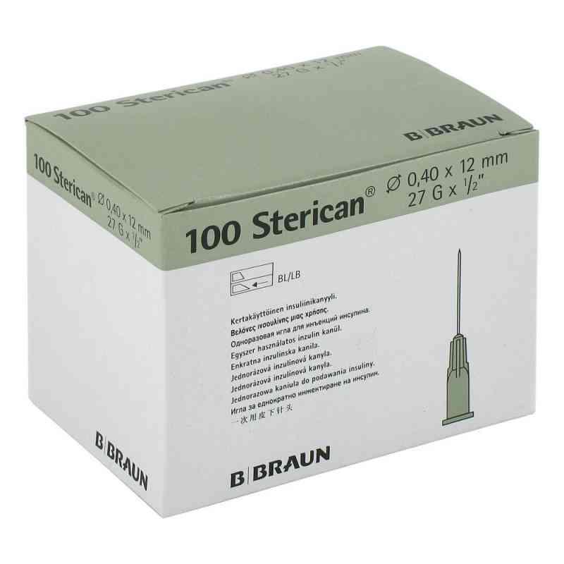 Sterican Ins.einm.kan.27gx1/2 0,40x12 mm  bei juvalis.de bestellen