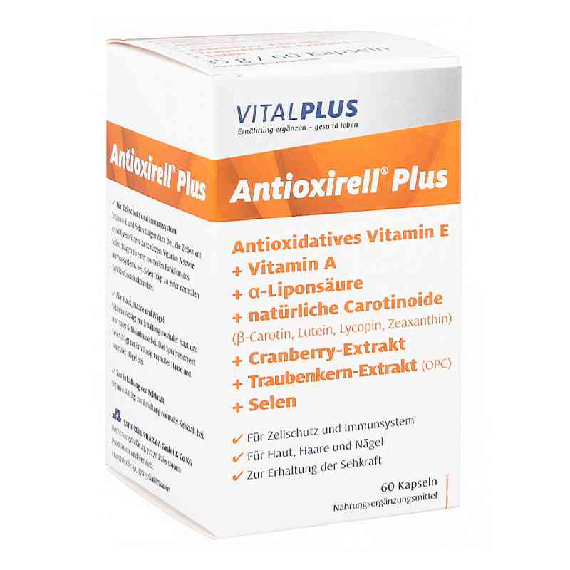 Antioxirell plus Kapseln  bei juvalis.de bestellen