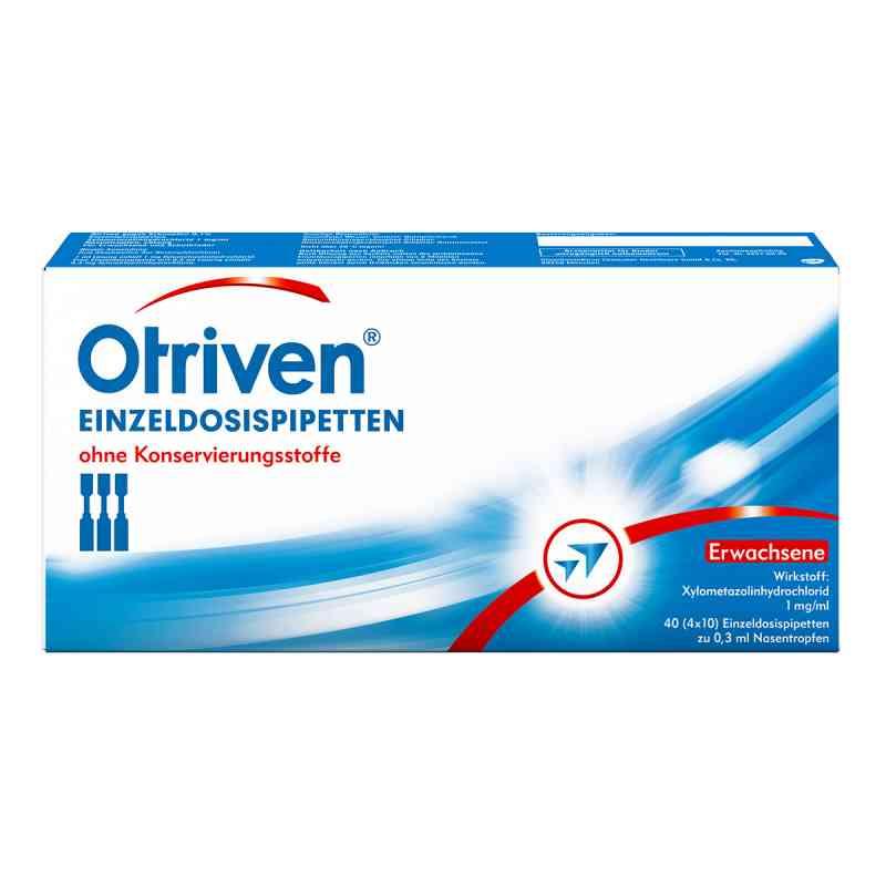 Otriven gegen Schnupfen 0,1 % Einzeldosispipetten  bei juvalis.de bestellen