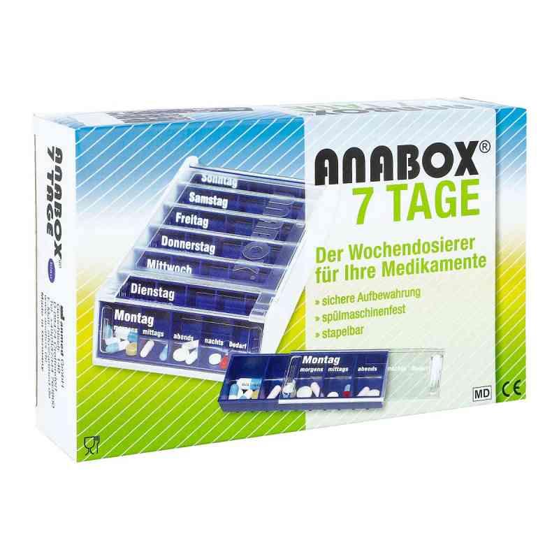 Anabox 7 Tage Wochendosierer blau  bei juvalis.de bestellen