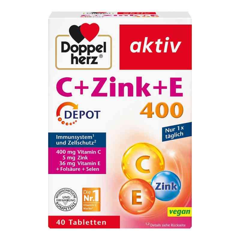 Doppelherz C + Zink + E Depot Tabletten  bei juvalis.de bestellen