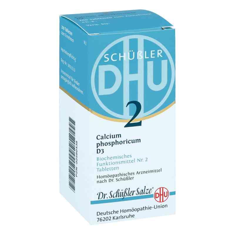 Biochemie Dhu 2 Calcium phosphorus D3 Tabletten  bei juvalis.de bestellen