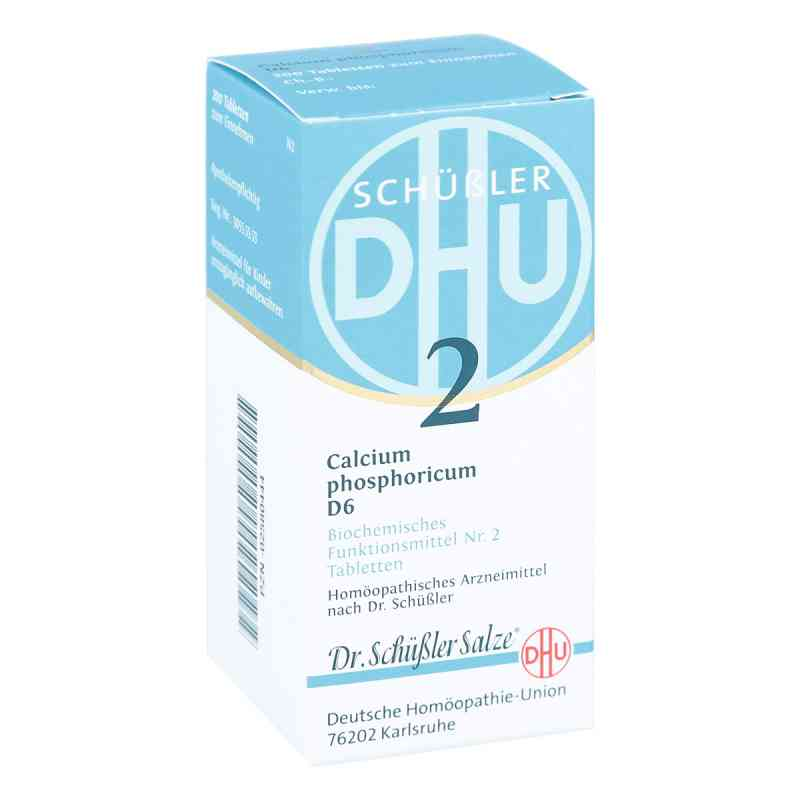 Biochemie DHU Schüßler Salz Nummer 2 Calcium phosphoricum D6  bei juvalis.de bestellen