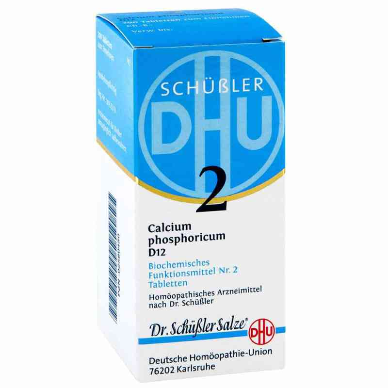 Biochemie Dhu 2 Calcium phosphorus D12 Tabletten  bei juvalis.de bestellen