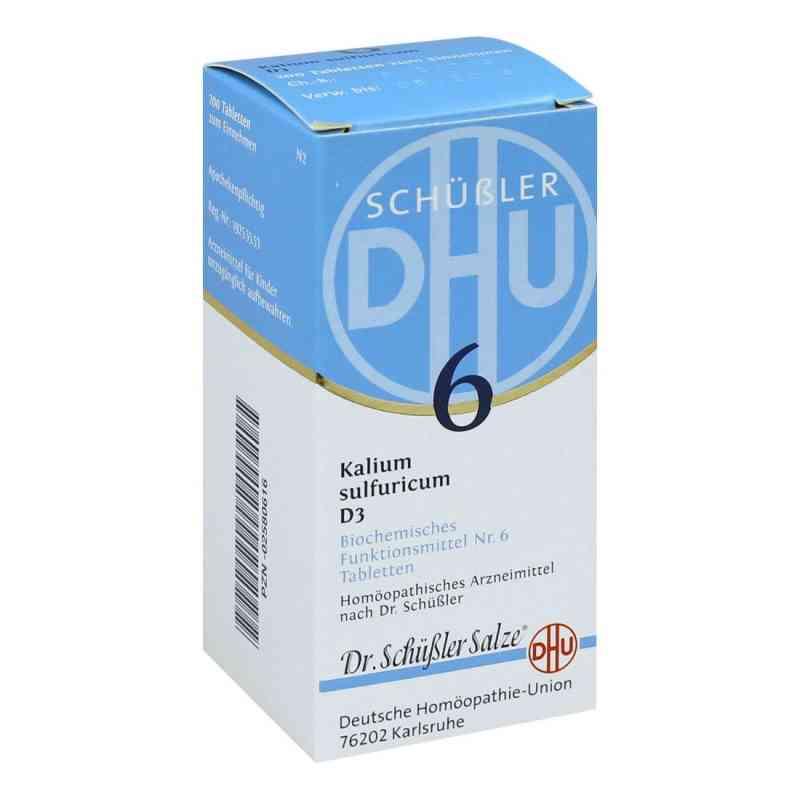 Biochemie Dhu 6 Kalium Sulfur D3 Tabletten  bei juvalis.de bestellen