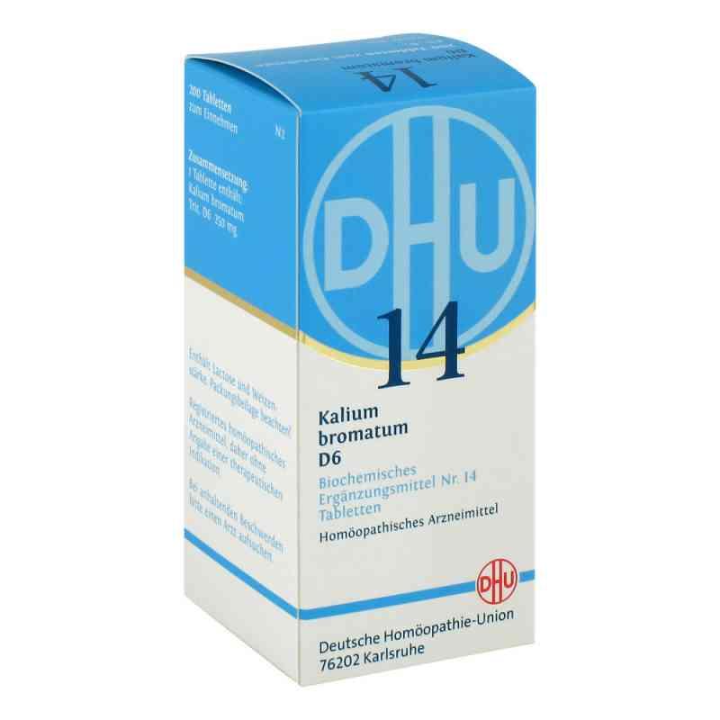 Biochemie Dhu 14 Kalium bromatum D6 Tabletten  bei juvalis.de bestellen