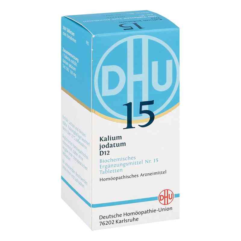 Biochemie Dhu 15 Kalium jodatum D12 Tabletten  bei juvalis.de bestellen