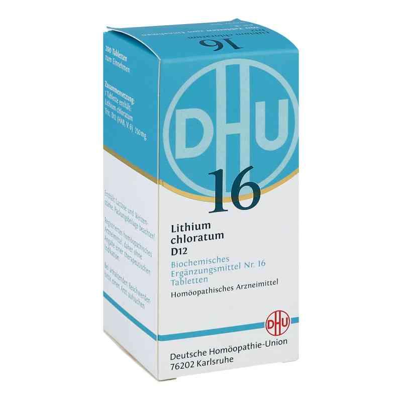 Biochemie Dhu 16 Lithium chloratum D12 Tabletten  bei juvalis.de bestellen