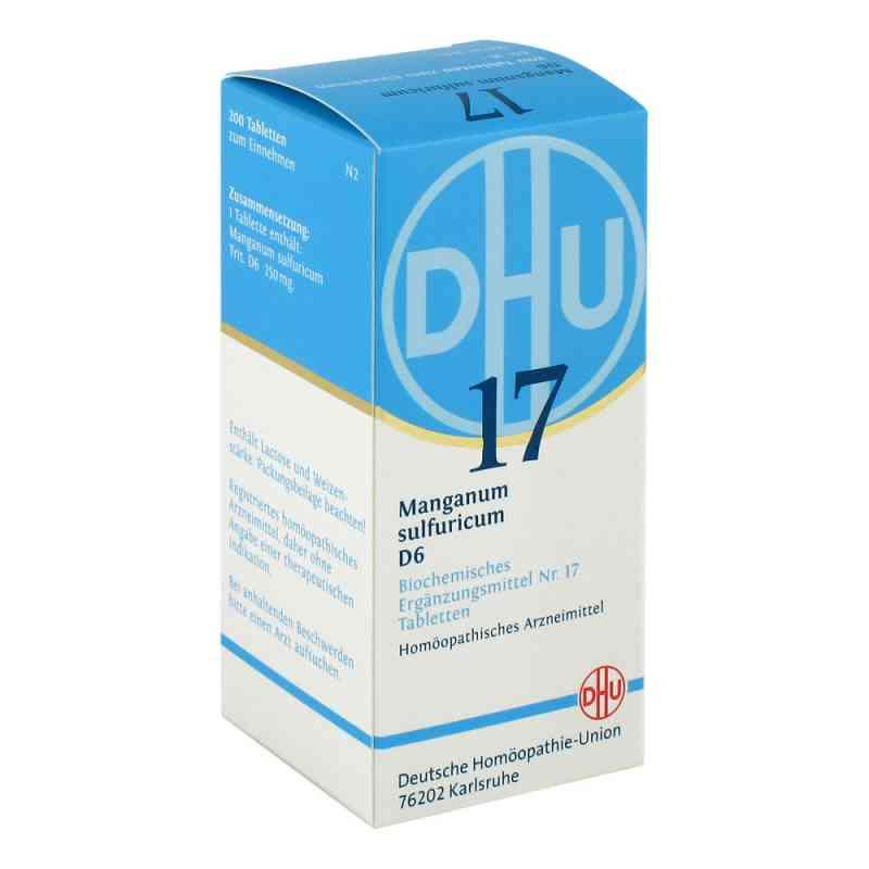Biochemie Dhu 17 Manganum sulfuricum D6 Tabletten  bei juvalis.de bestellen