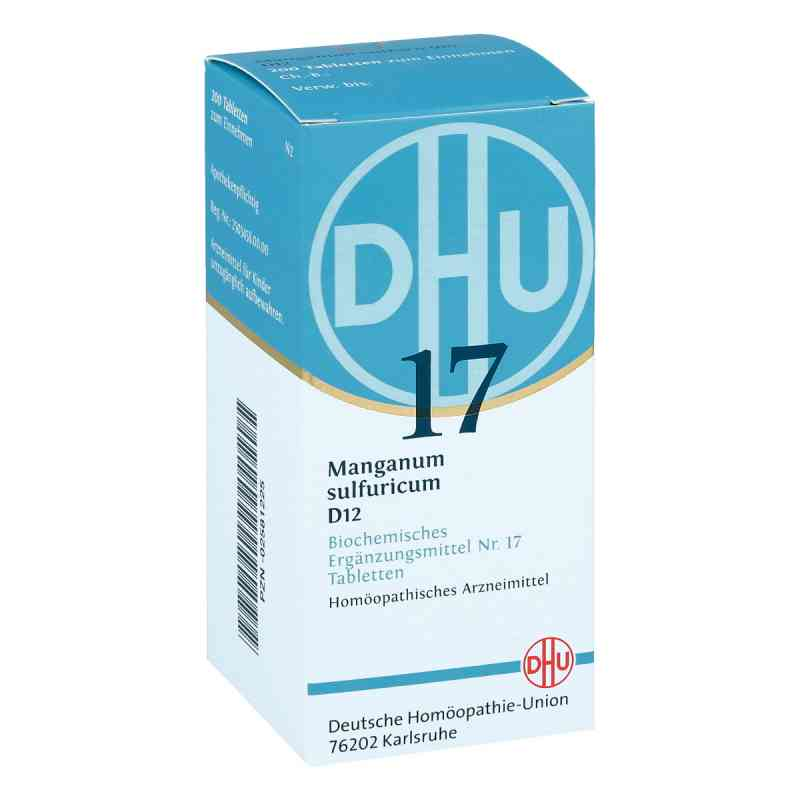 Biochemie Dhu 17 Manganum sulfuricum D12 Tabletten  bei juvalis.de bestellen