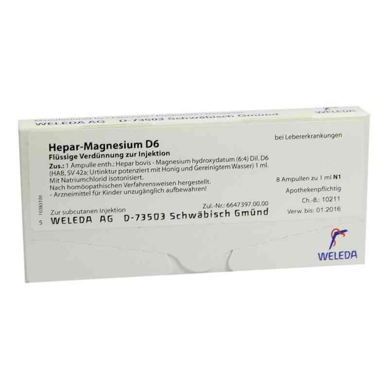 Hepar-magnesium D6 Ampullen  bei juvalis.de bestellen