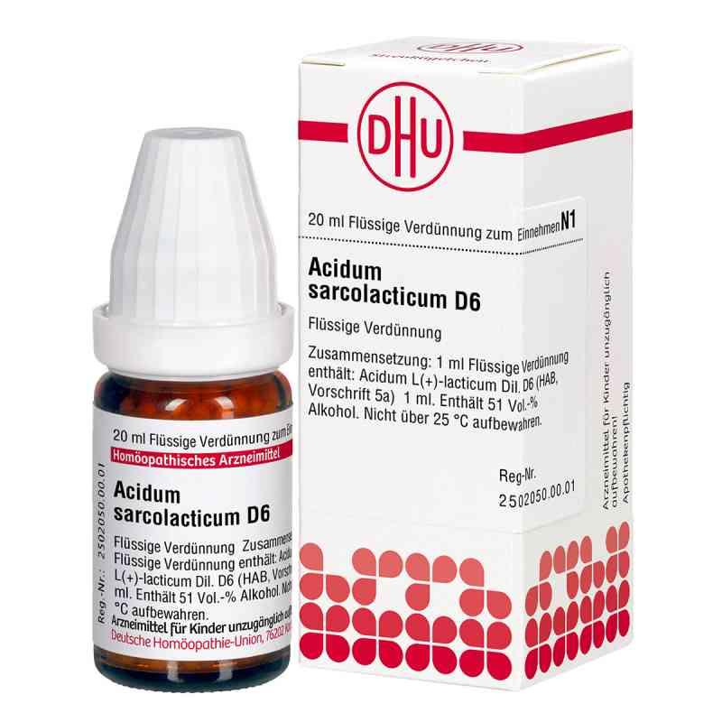 Acidum Sarcolactic D6 Dilution  bei juvalis.de bestellen