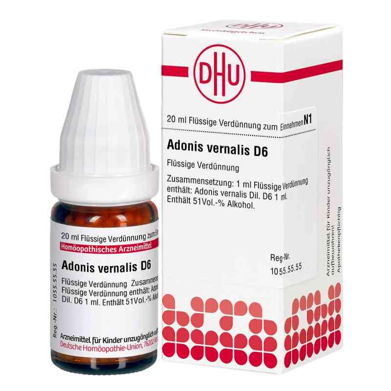 Adonis Vernalis D6 Dilution  bei juvalis.de bestellen