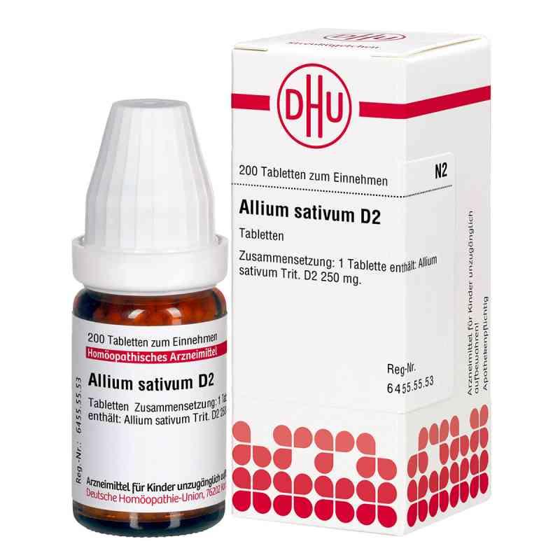 Allium Sativum D2 Tabletten  bei juvalis.de bestellen