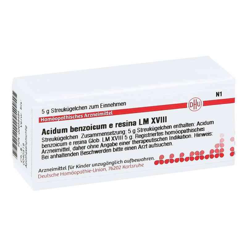 Lm Acidum Benzoicum E Res. Xviii Globuli  bei juvalis.de bestellen