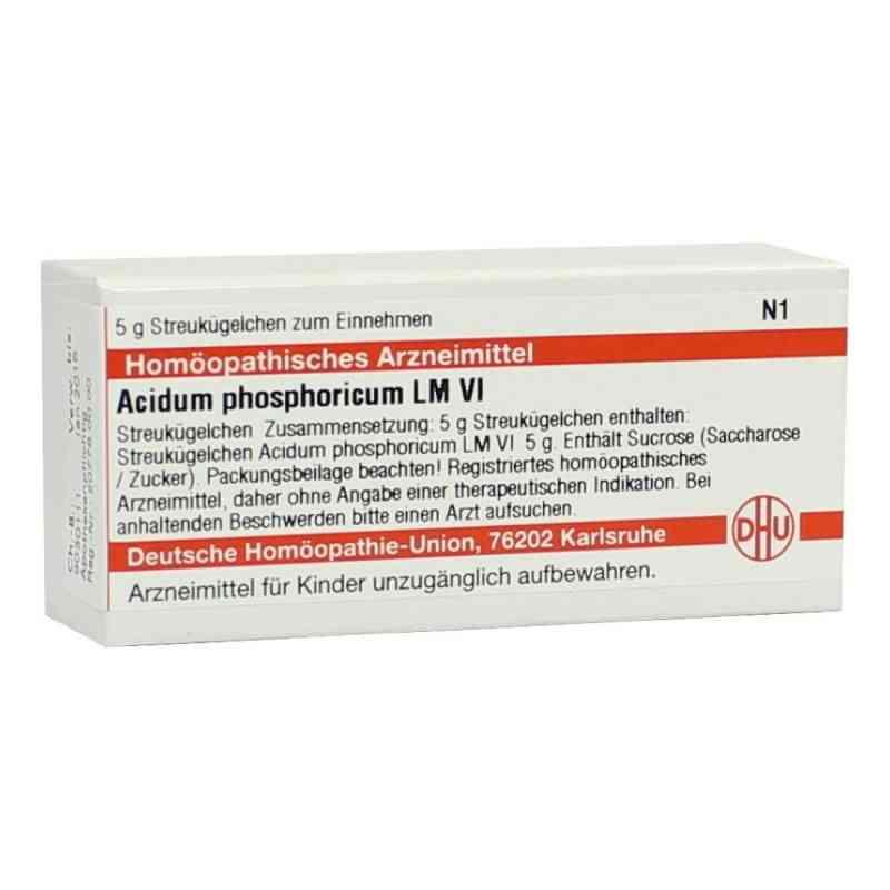 Lm Acidum Phosphoricum Vi Globuli  bei juvalis.de bestellen