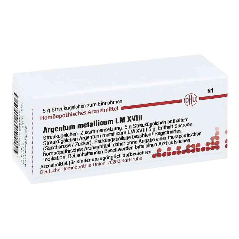 Lm Argentum Metallicum Xviii Globuli  bei juvalis.de bestellen