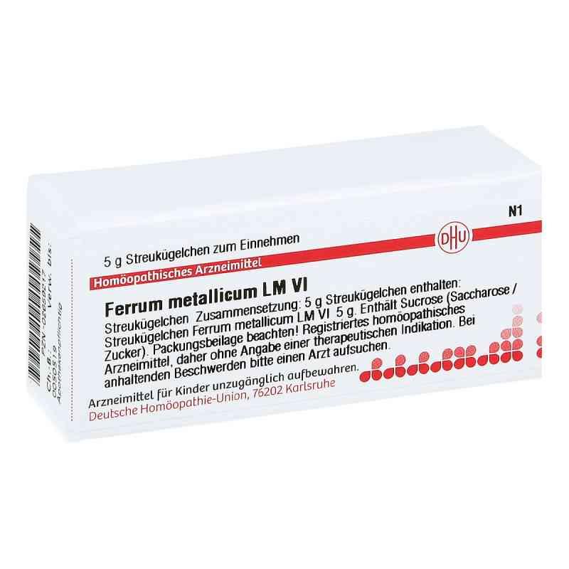 Lm Ferrum Metallicum Vi Globuli  bei juvalis.de bestellen