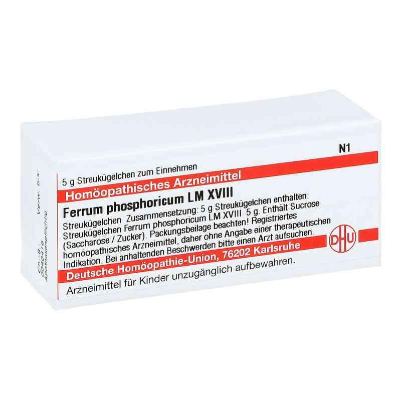 Lm Ferrum Phosphoricum Xviii Globuli  bei juvalis.de bestellen