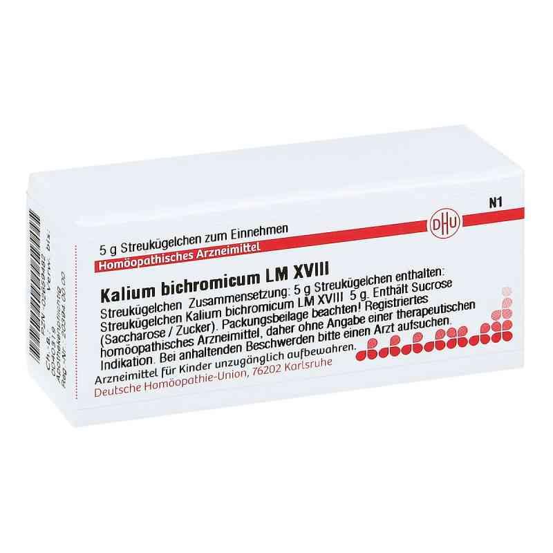 Lm Kalium Bichromicum Xviii Globuli  bei juvalis.de bestellen
