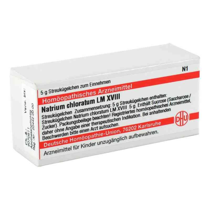 Lm Natrium Chloratum Xviii Globuli  bei juvalis.de bestellen