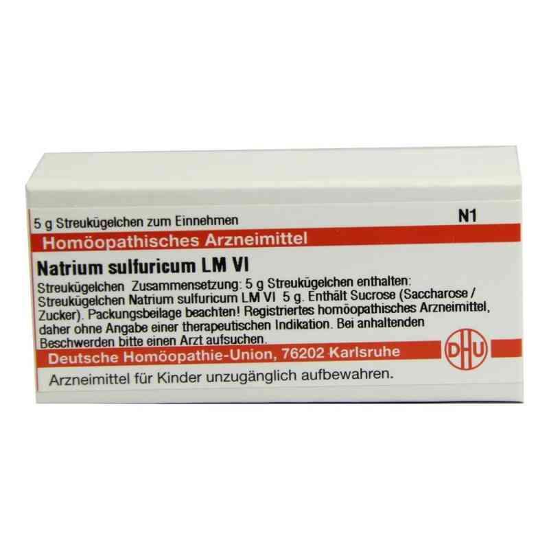 Lm Natrium Sulfuricum Vi Globuli  bei juvalis.de bestellen
