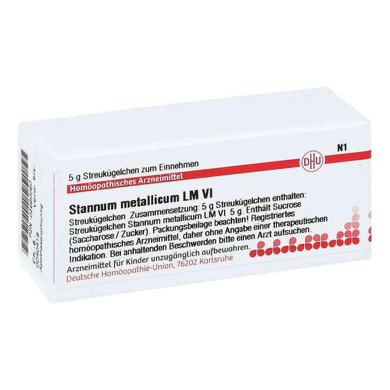 Lm Stannum Metallicum Vi Globuli  bei juvalis.de bestellen