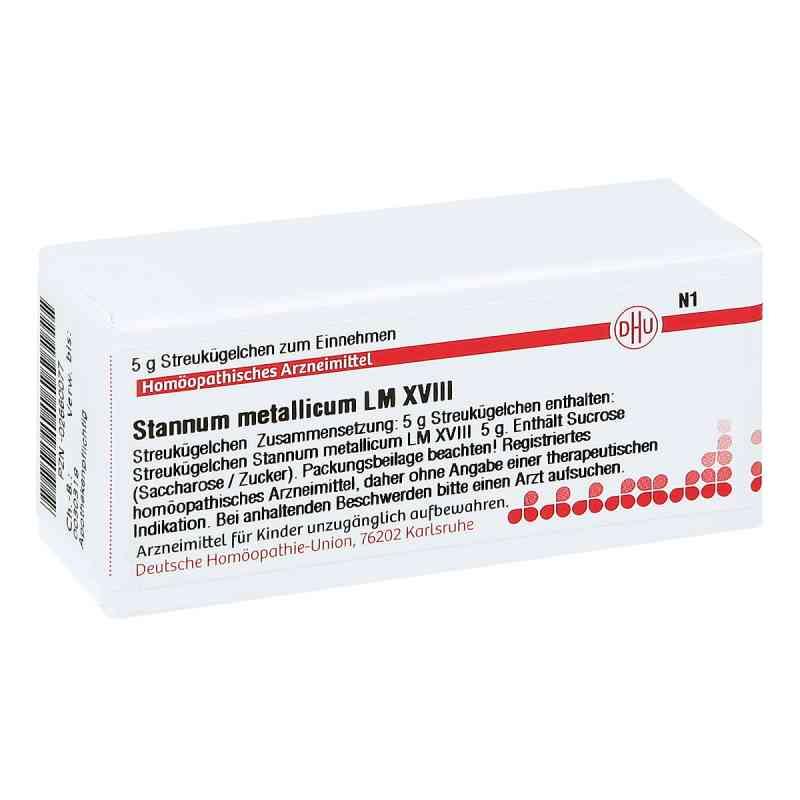 Lm Stannum Metallicum Xviii Globuli  bei juvalis.de bestellen