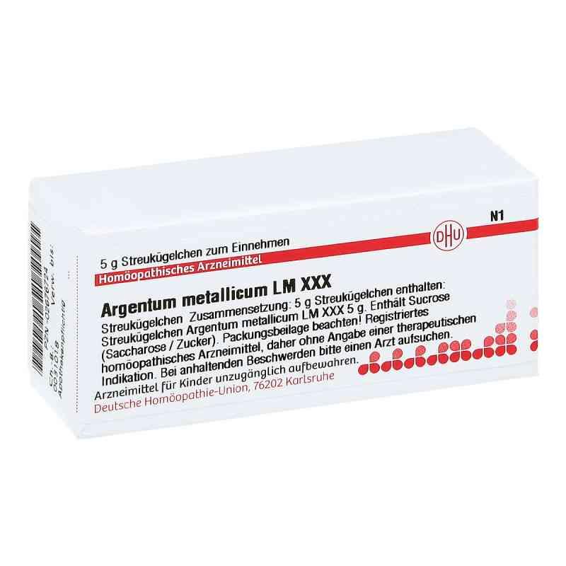 Lm Argentum Metallicum Xxx Globuli  bei juvalis.de bestellen