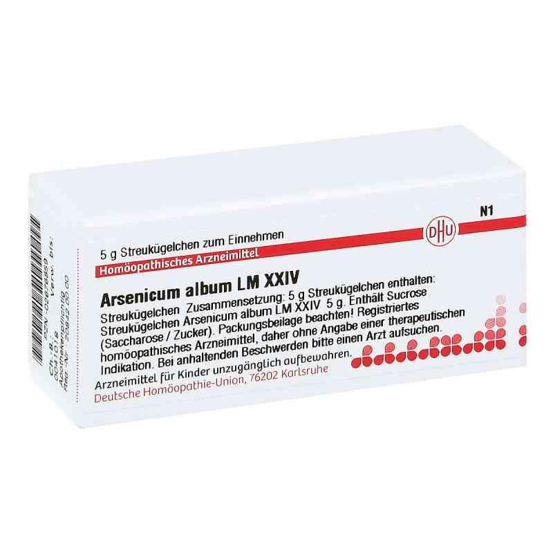 Lm Arsenicum Album Xxiv Globuli  bei juvalis.de bestellen
